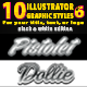 10 Illustrator Graphic Styles Vol.6 - GraphicRiver Item for Sale