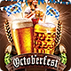 Oktoberfest Beer Festival Flyer Template - GraphicRiver Item for Sale