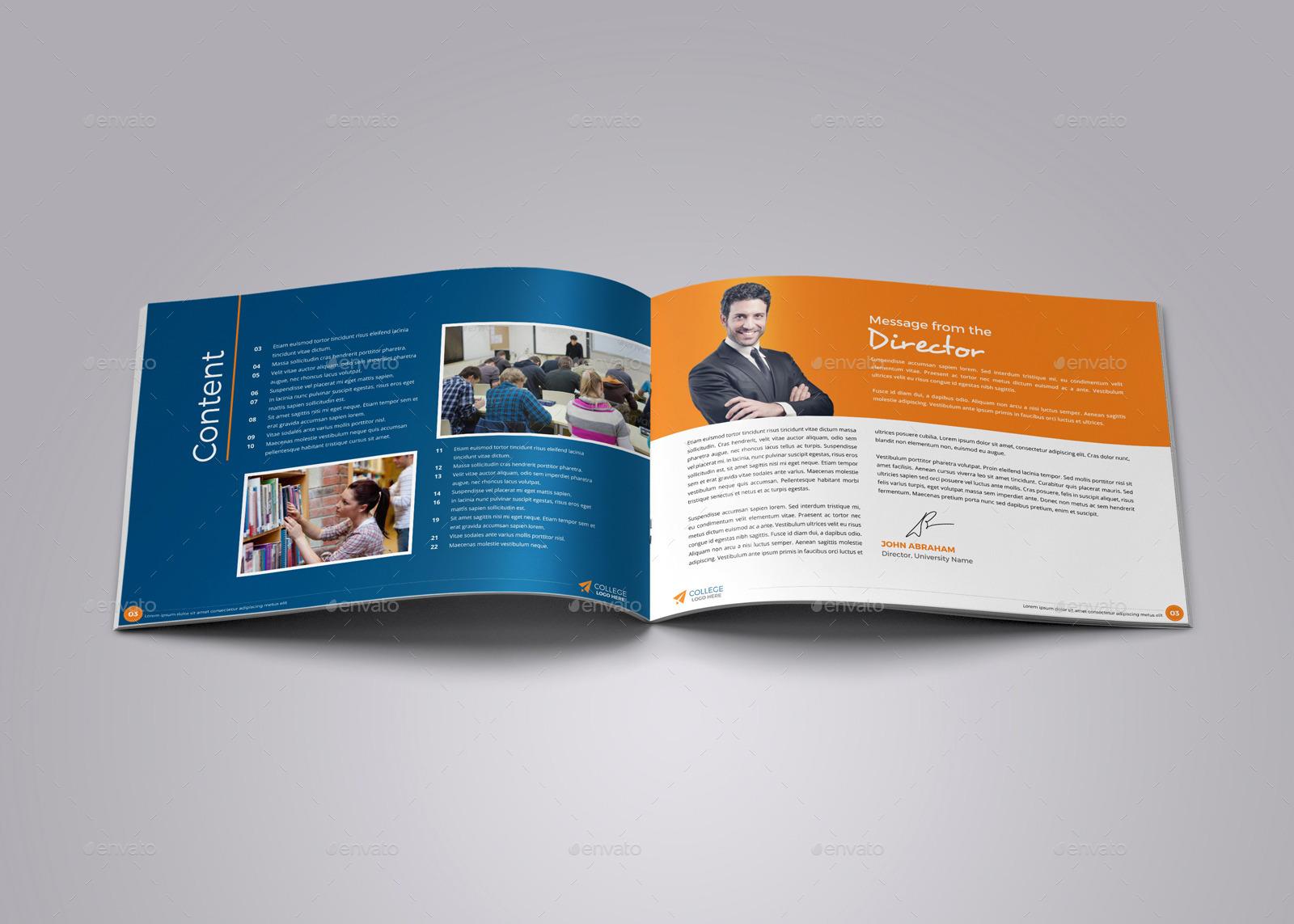 college university prospectus brochure v4 by jbn comilla graphicriver