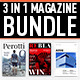 Magazine Template Bundle, Vol. 1 - GraphicRiver Item for Sale