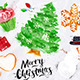 Set Christmas Tree - GraphicRiver Item for Sale