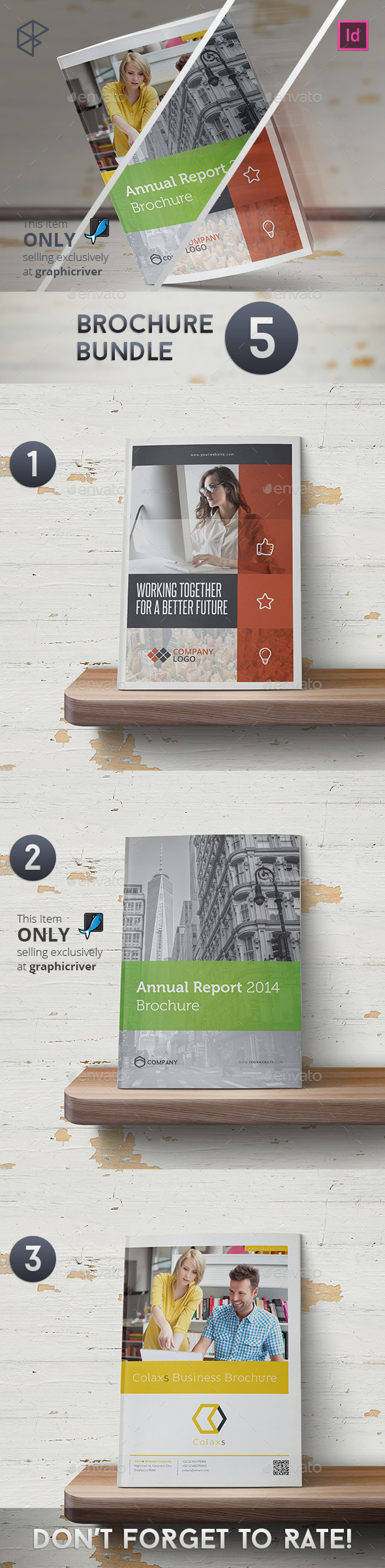 Brochure Bundle 3 - Corporate Brochures