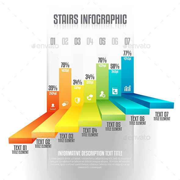 Stairs Infographic - Infographics