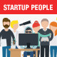Startup Characters Vector Pack - GraphicRiver Item for Sale