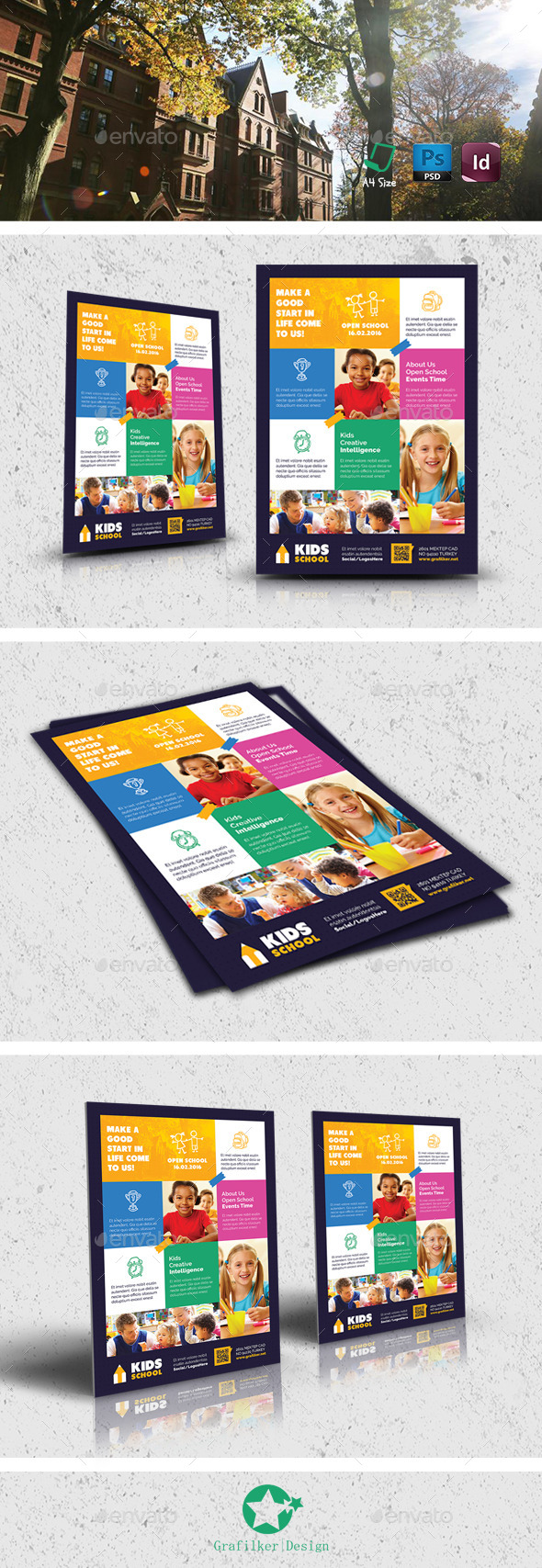 Kids School Flyer Templates - Corporate Flyers