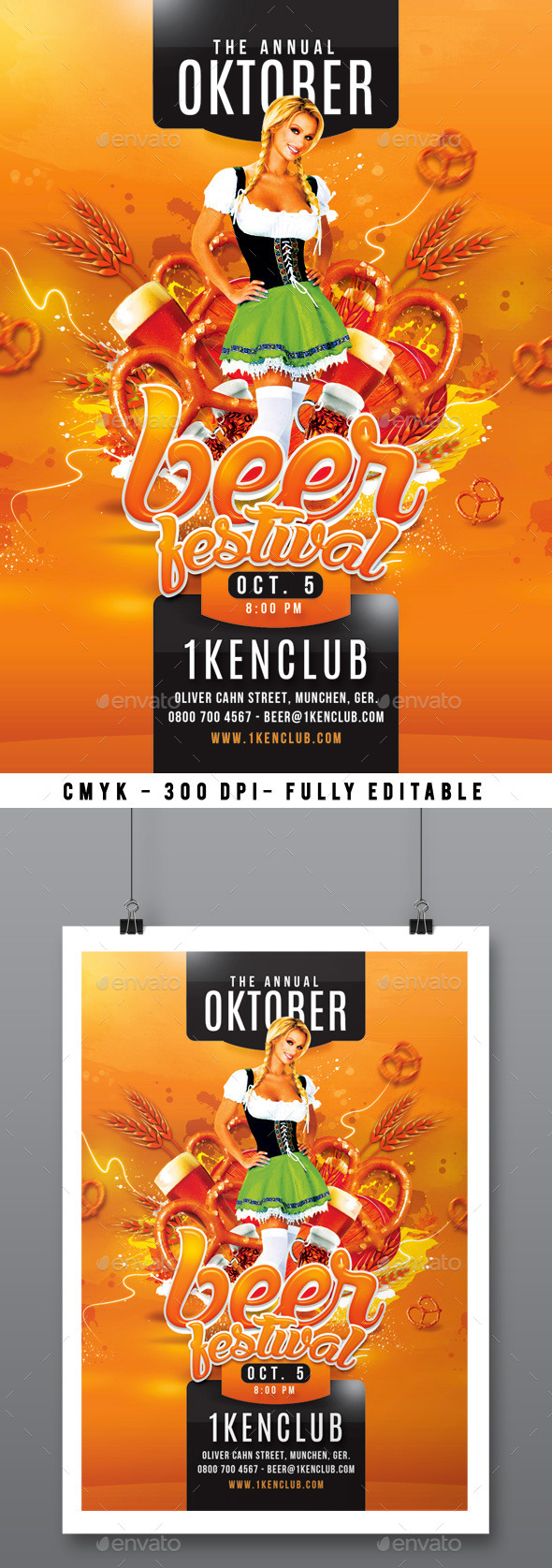 Beer Festival - Events Flyers