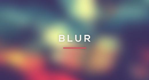 Blurred Backgounds