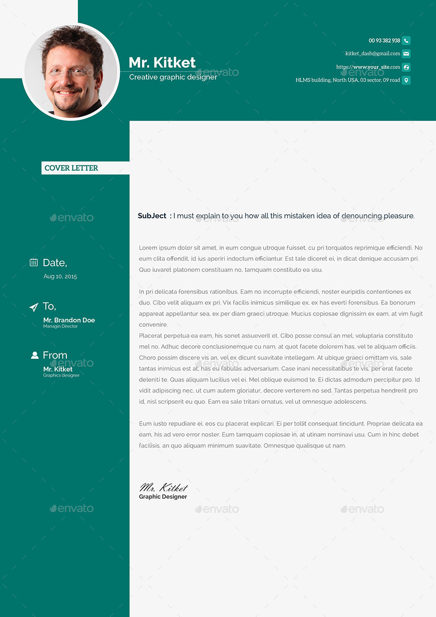 professional resume template by kitket