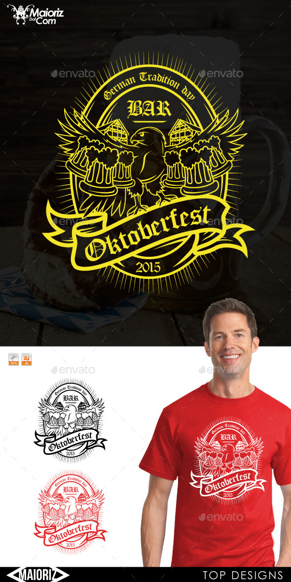 Hawk Oktoberfest Tshirt - Events T-Shirts