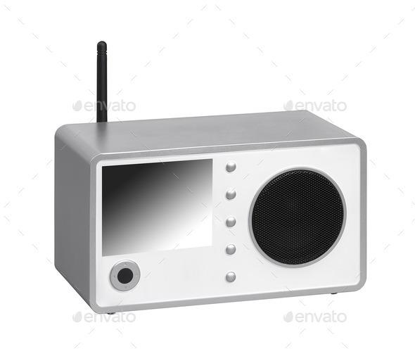 Radio receiver - Stock Photo - Images