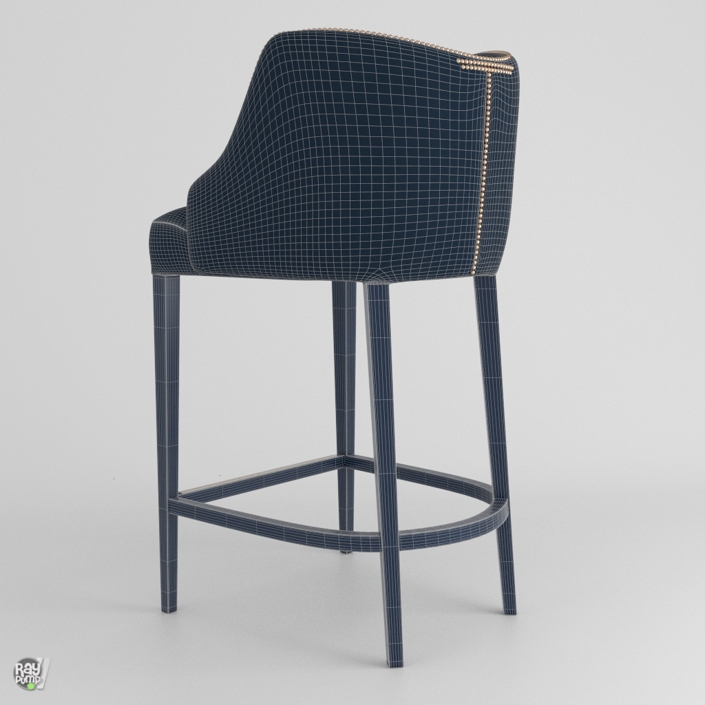 Becomes Me Bar Stool by Chemsy   3DOcean
