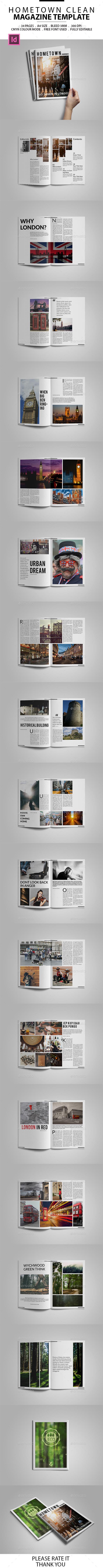 Multipurpose Minimal Magazine - Magazines Print Templates