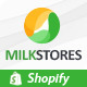 Leo Milk Store Shopify Theme - ThemeForest Item for Sale