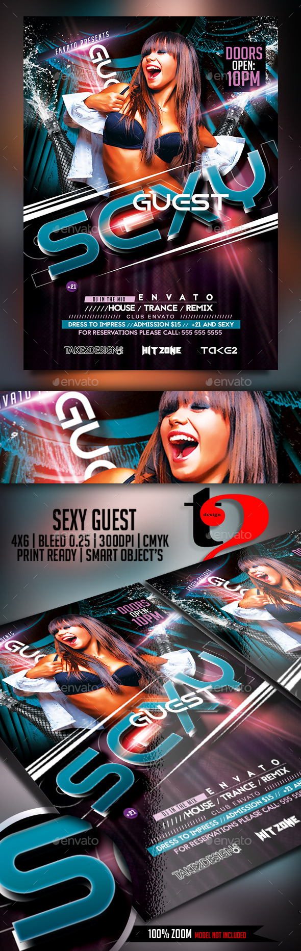 Sexy Guest Flyer - Clubs & Parties Events