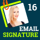 Email Signature Templates- Creative 16 Designs - GraphicRiver Item for Sale