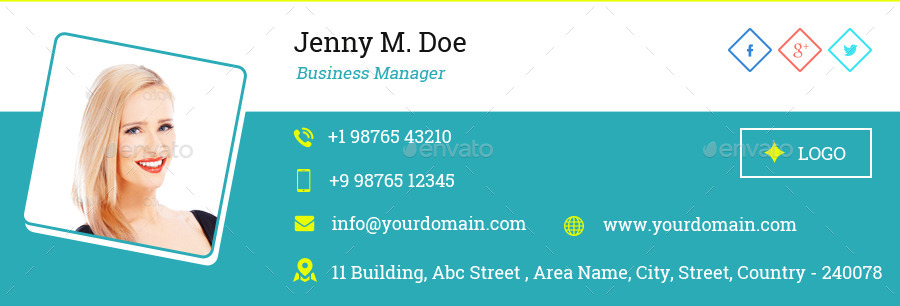 Email Signature Templates Creative  Designs By VijeshriB