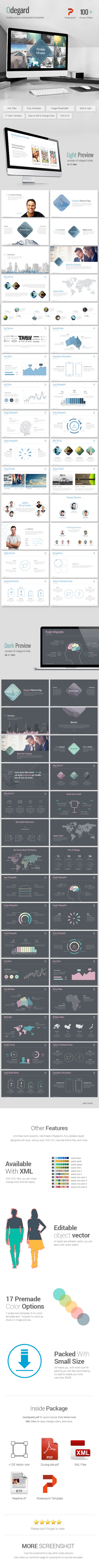 Odegard Simple Powerpoint Presentation Template