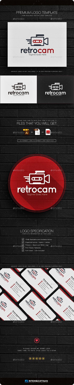 Retro Cam Logo - Objects Logo Templates