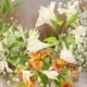 Flowers On Decorative Basket - VideoHive Item for Sale