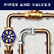 Pipes and Valves Fittings V1 - GraphicRiver Item for Sale
