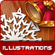 Xmas Illustration Pack - GraphicRiver Item for Sale