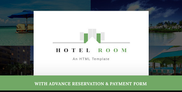 Hotel Room- Minimalist Hotel, Travel HTML Template - Travel Retail