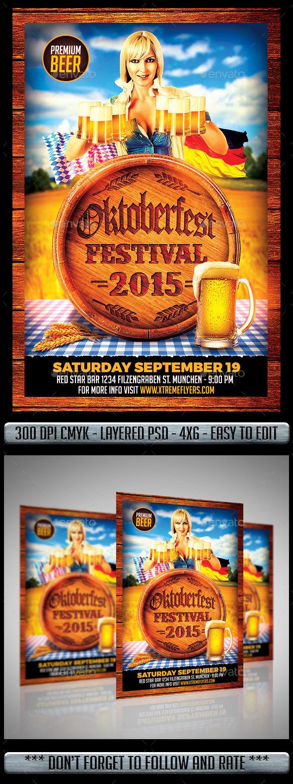 Oktoberfest Flyer - Print Templates