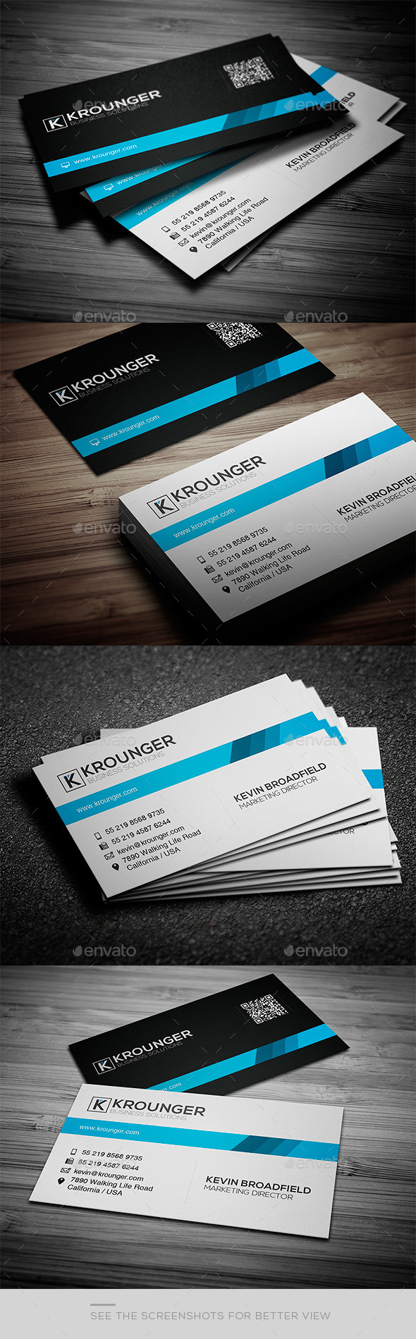 Business Card Pro Series Vol. 06 - Creative Business Cards