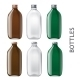 Template of Glass Bottles - GraphicRiver Item for Sale