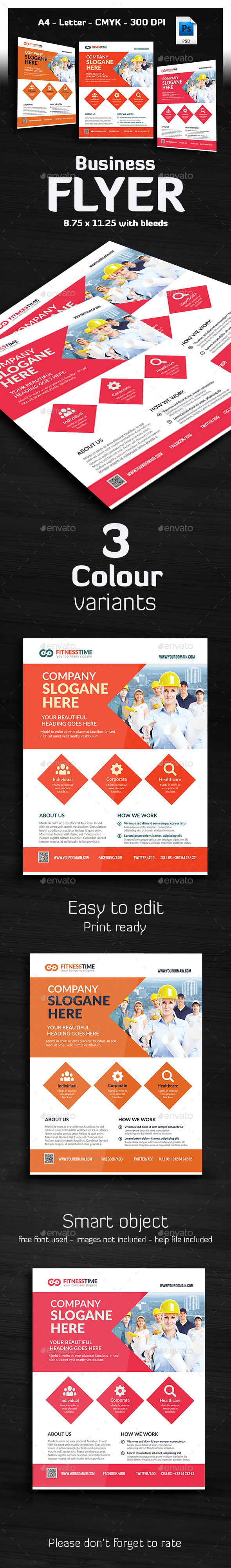 Taktik - Ultimate Business Flyer - Corporate Flyers