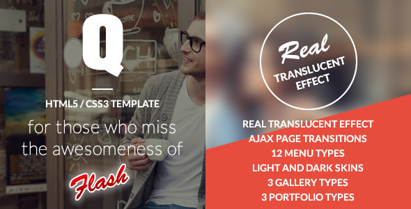 Q Creative – The HTML5 Template