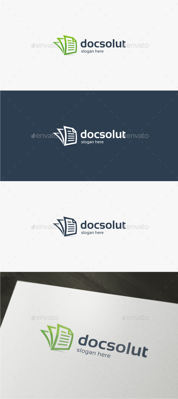 Doc Solutions - Logo Template - Objects Logo Templates