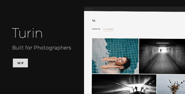 Turin – Aesthetic Photography WordPress Theme