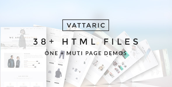 Vattaric – Multi-Purpose Template