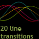 20 line color transitions - VideoHive Item for Sale