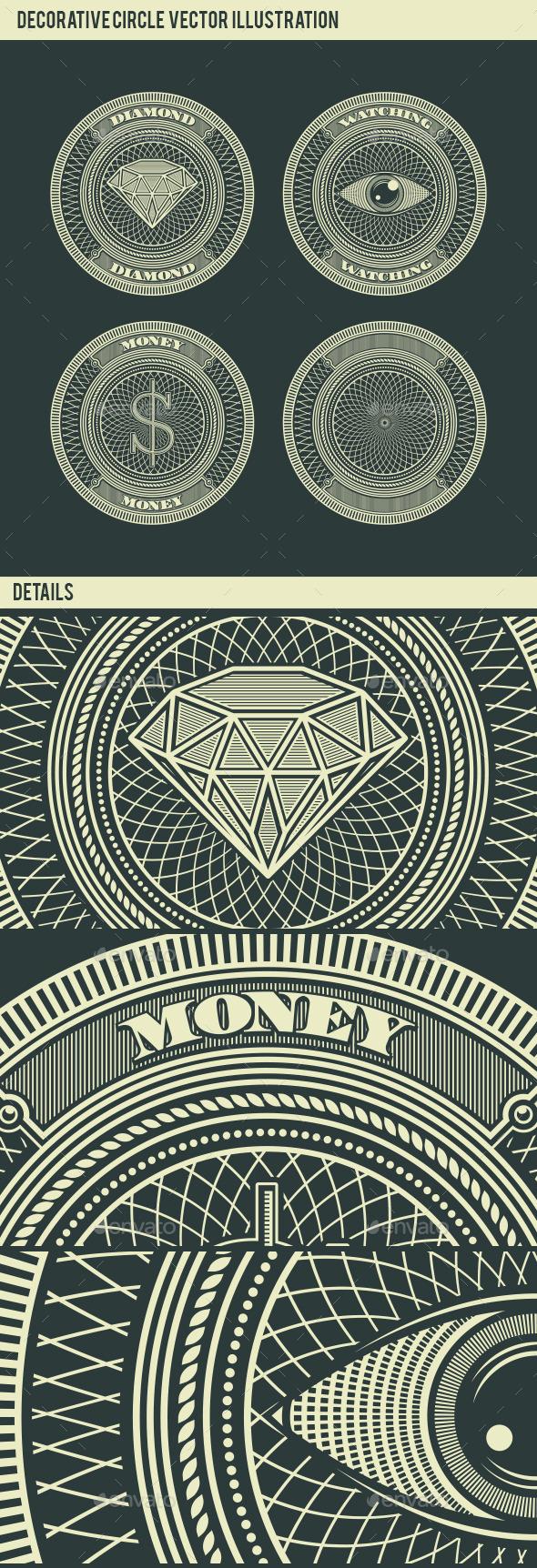 Money Diamond and Eye