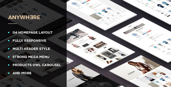 Leo Anywhere – Responsive Prestashop Theme
