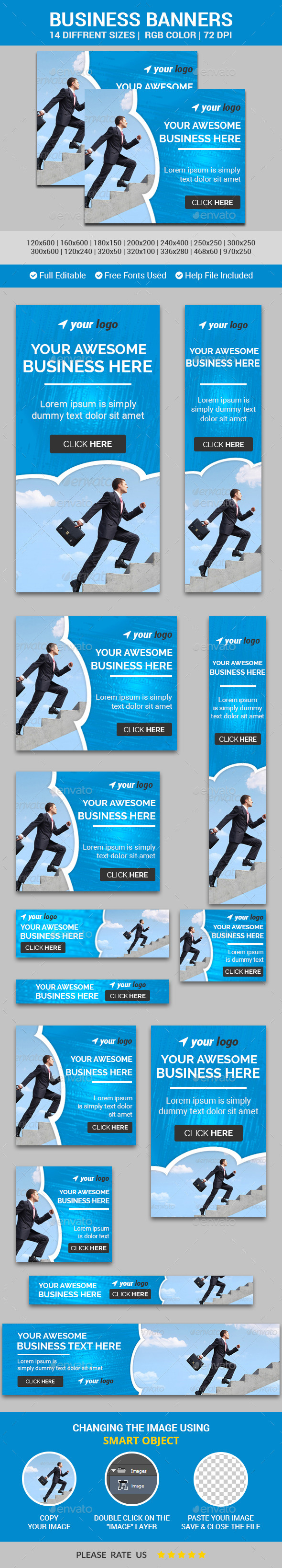Business Banners v8
