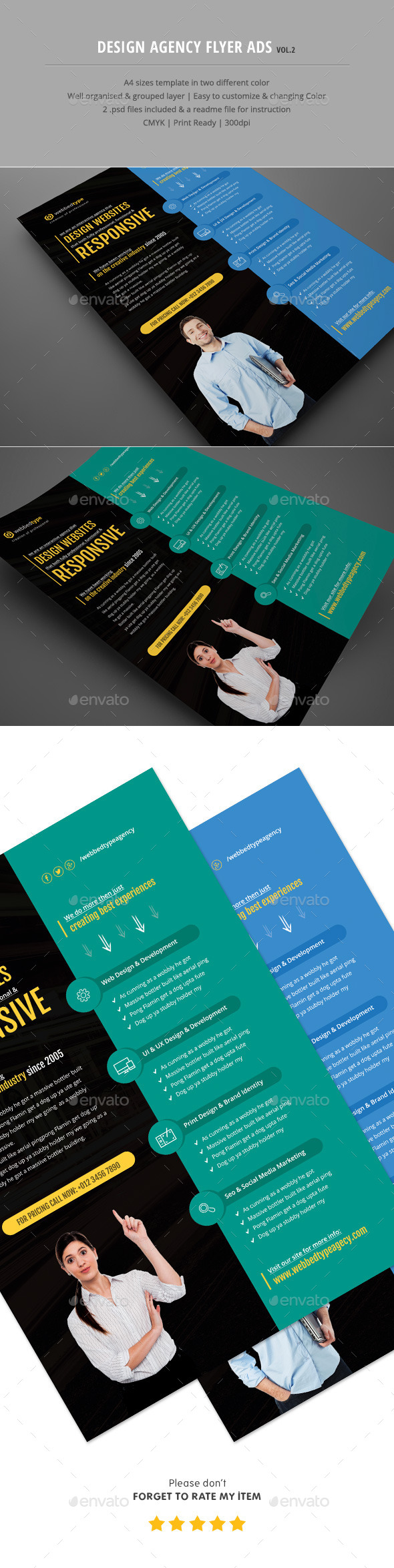 Design Agency Flyer Ads Vol.2