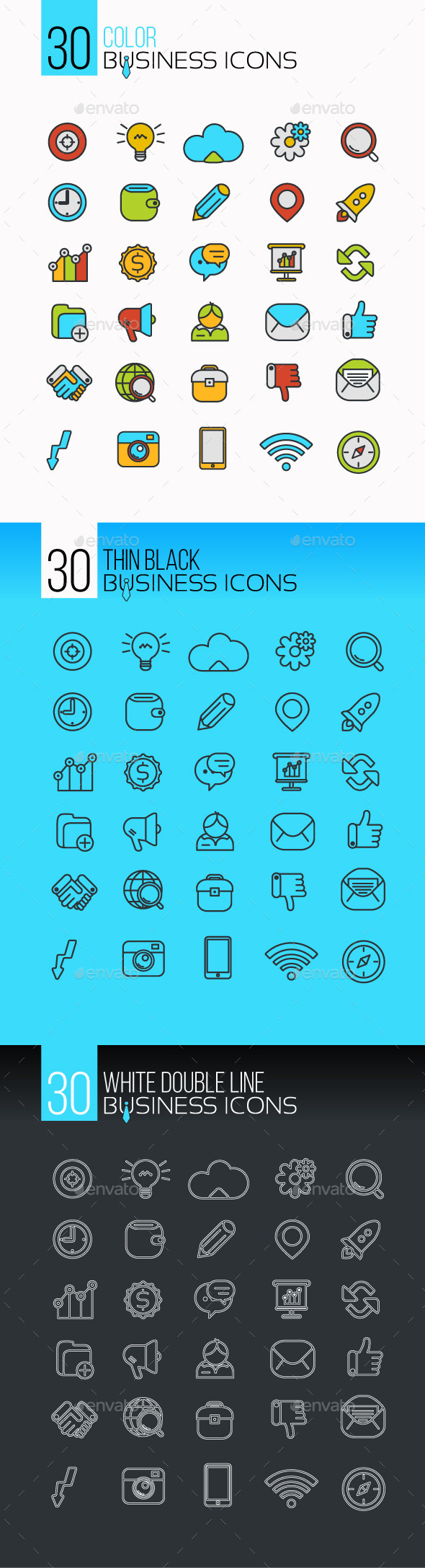 Set of Business Icons - Business Icons
