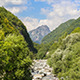 Clouds over Mountain Peak and River - VideoHive Item for Sale