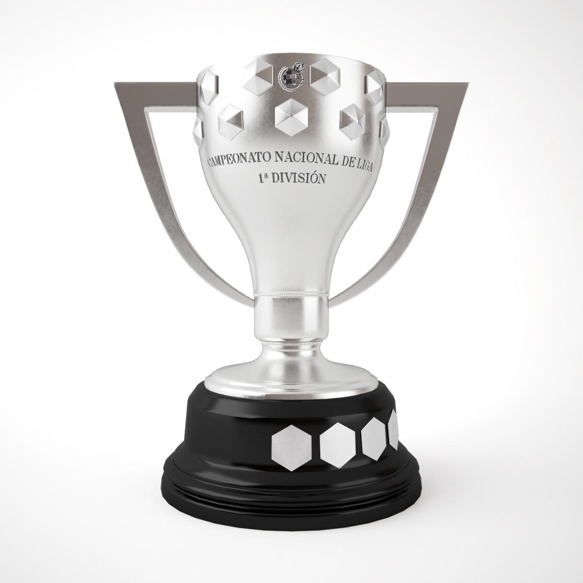Spain La Liga Trophy By Emp Otu 3docean