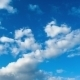 Clouds Moving In The Blue Sky. - VideoHive Item for Sale