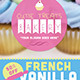 Cutie Treats Bakery Flyer Template - GraphicRiver Item for Sale