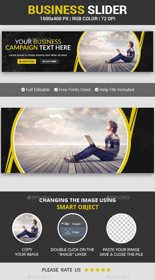Business Slider v8 - Sliders & Features Web Elements