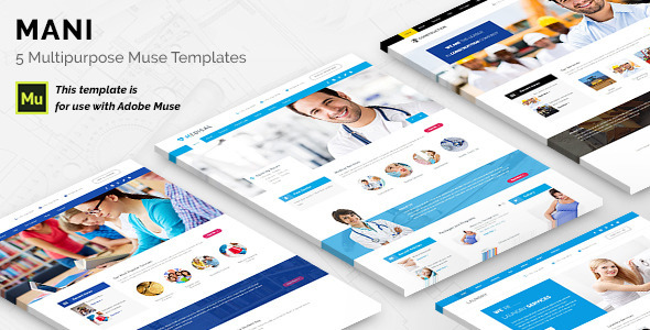 Mani - Multipurpose Template