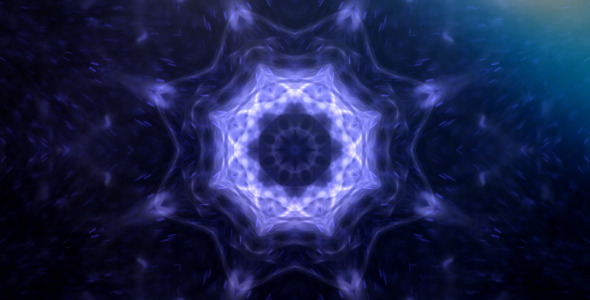 Magic Kaleidoscope Background