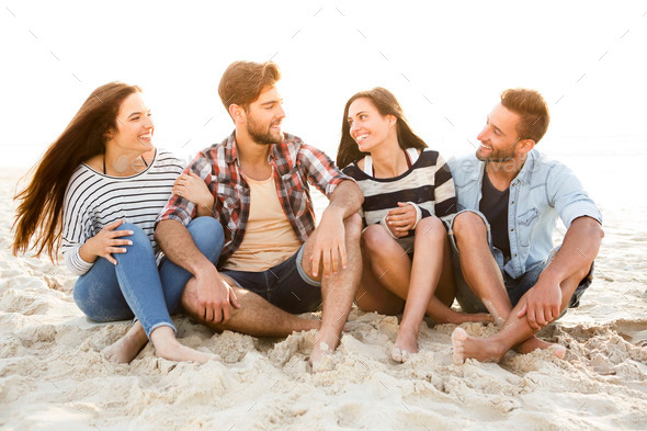 The best summer is with friends - Stock Photo - Images