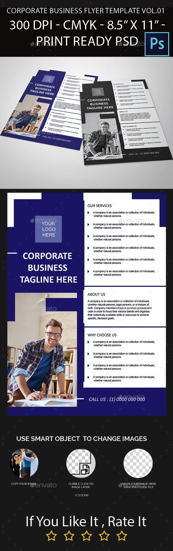 Corporate Business Flyer Template Vol.01