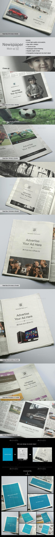 Newspaper Mock-up v2 - Miscellaneous Print
